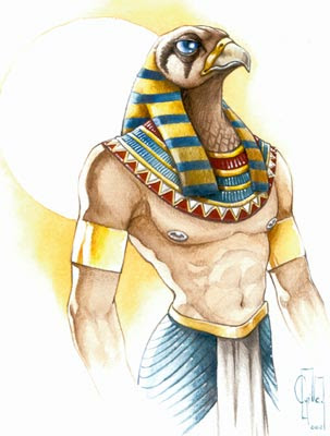 alkimystika deuses do egito hórus