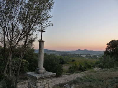 GR60 サン=マチュー=ド=トレヴィエ村からピック・サン・ルー登山
