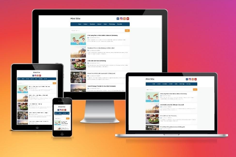 mini-site-pro-blogger-template
