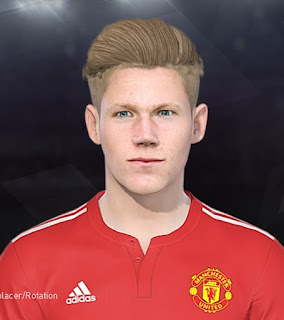 PES 2018 Faces Scott McTominay by Tiitoo