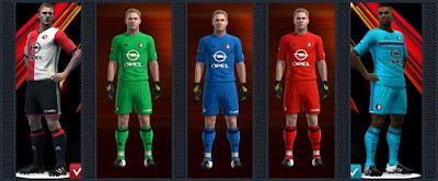 PES 2013 Feyenoord Rotterdam kits 16-17 by Radymir