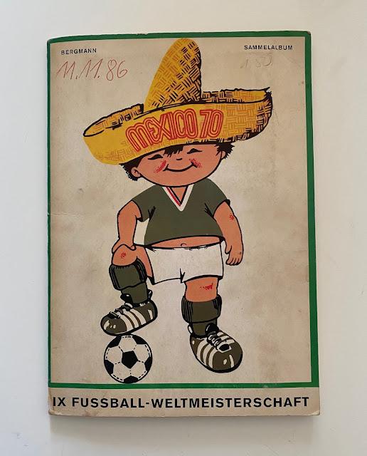 copertina album Mexico 70 Bergman