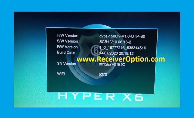 Download HYPER X6 1506tv Update Firmware