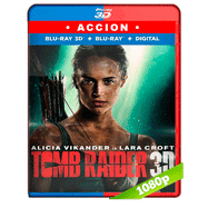 Tomb Raider: Las aventuras de Lara Croft (2018) 3D SBS 1080p Audio Dual Latino-Ingles