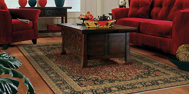 Area rugs add a layer of design, warmth & comfort