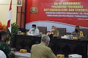 Polres Purbalingga Gelar Rapat Koordinasi Penguatan Toleransi dan  Anti Terorisme