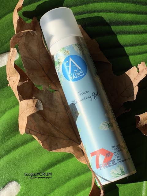ayşenur yazıcı face cleansing gel yüz temizleme jeli