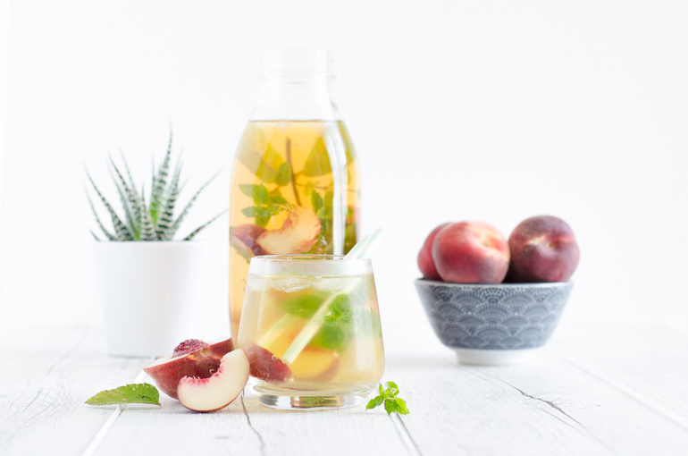 ice tea th glac maison la p che je dis m food blog lifestyle en normandie. Black Bedroom Furniture Sets. Home Design Ideas