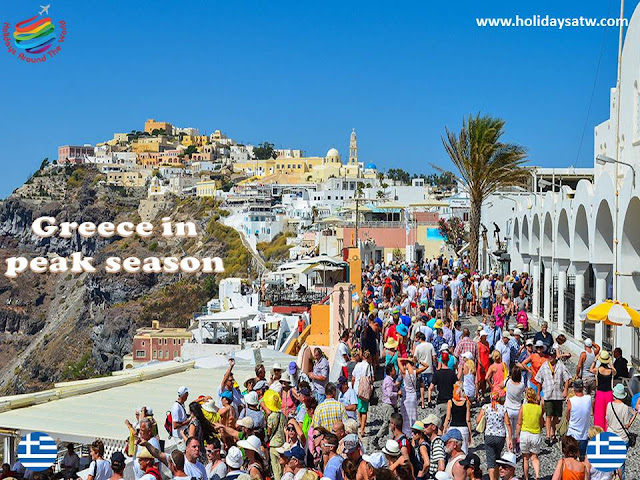Best time to travel to Greece