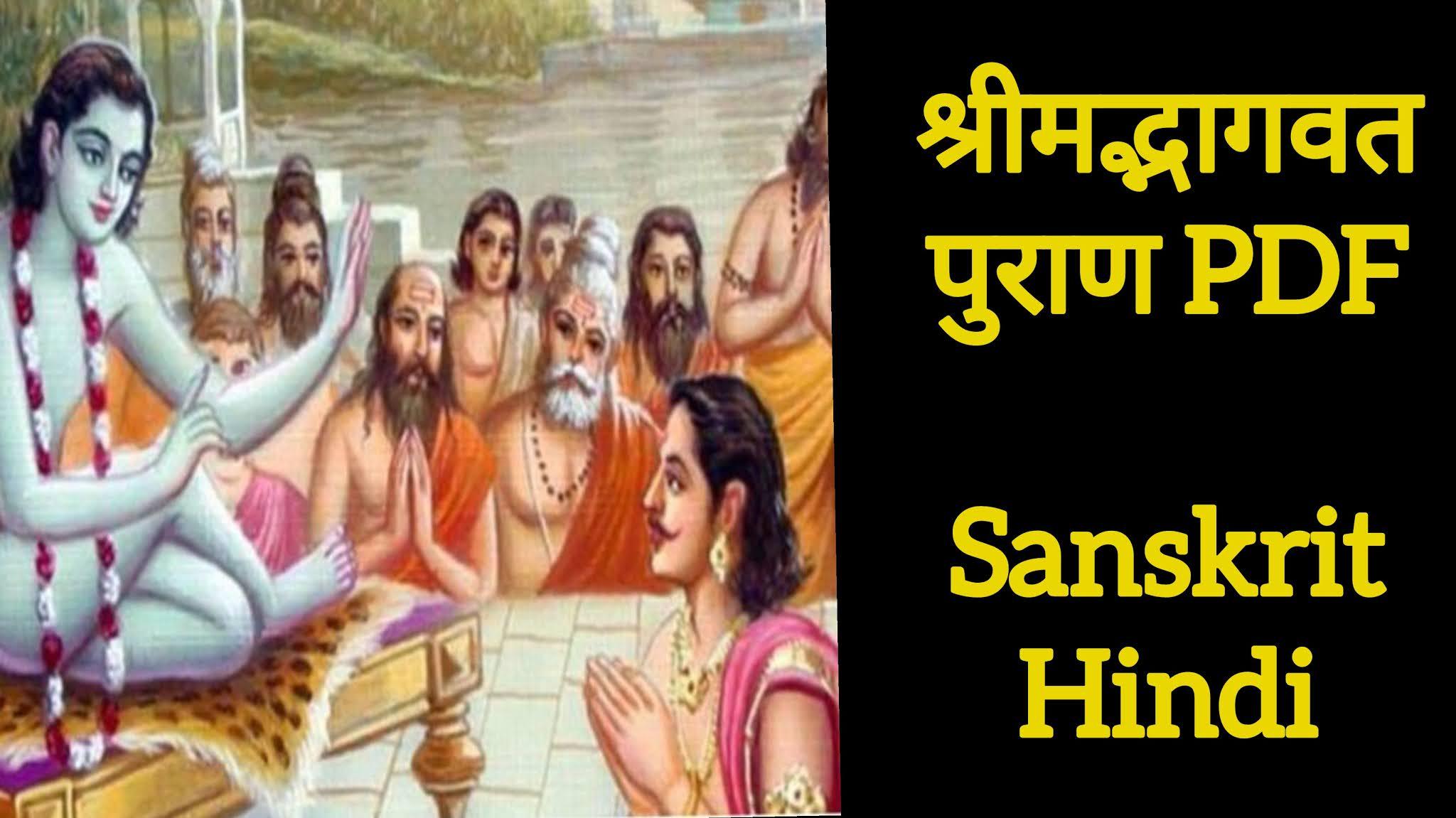 Bhagavata Purana (भागवत पुराण) PDF in Sanskrit with Hindi