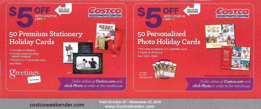 Current Costco Coupon Book (November 2016) Costco Weekender - Coupon Book Printing