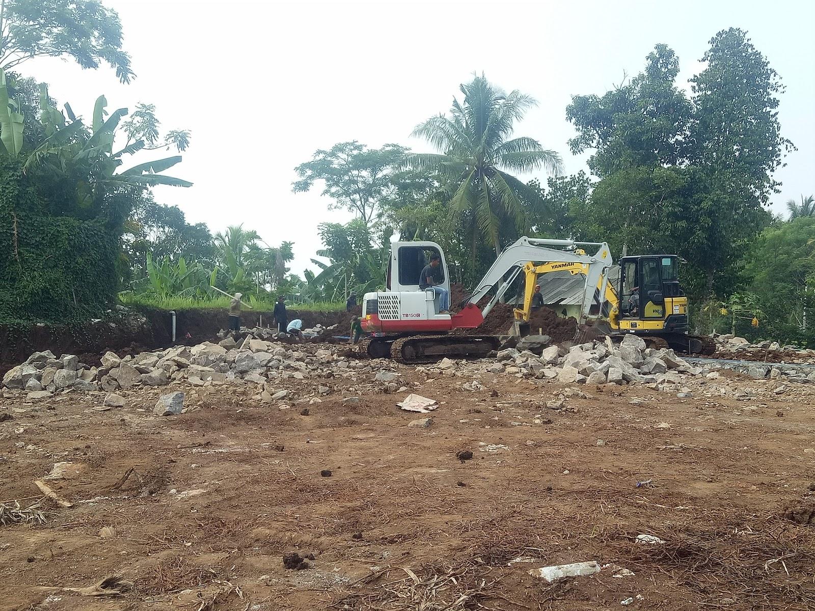 Disewakan Alat Berat Excavator Di Pandeglang Cas Water Park
