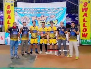 Klub singa Jepara Sepaktakraw Jepara Raih Peringkat Pertama Liga Batik Al Syaffa 2021