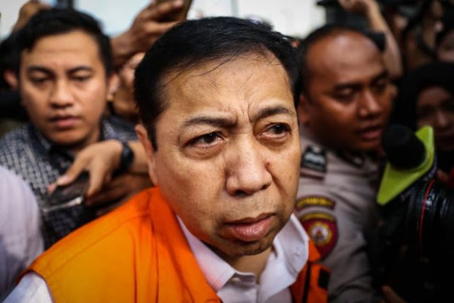 Ya Ampun Gaya Tersangka Korupsi Jaman Now! Jika Keponakannya Buat Pengakuan Terima 3,5 Juta Dolar, Setya Novanto Siap Menggantinya....