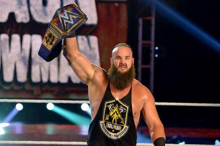 WWE Release Braun Strowman
