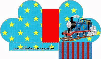 Thomas the Train Heart Shaped Open Box.