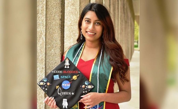 Mahjabin Haque The newest Bangladeshi woman to join NASA