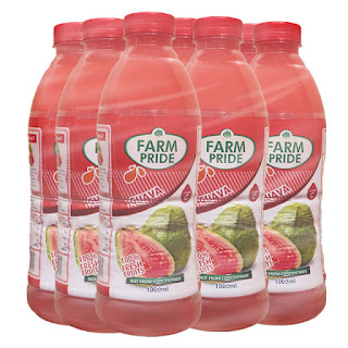 Farm Pride Guava 1 Liter x 9