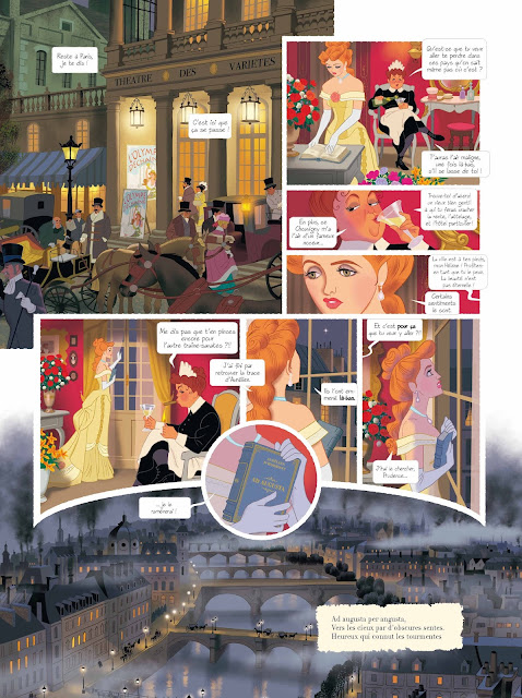 Les chimères de Vénus aux éditions Rue de Sèvres Page 13