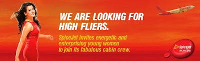 Walkin-Cabin Crew/Flight Attendant(Female)-SpiceJet-Bangalore-April, 2016