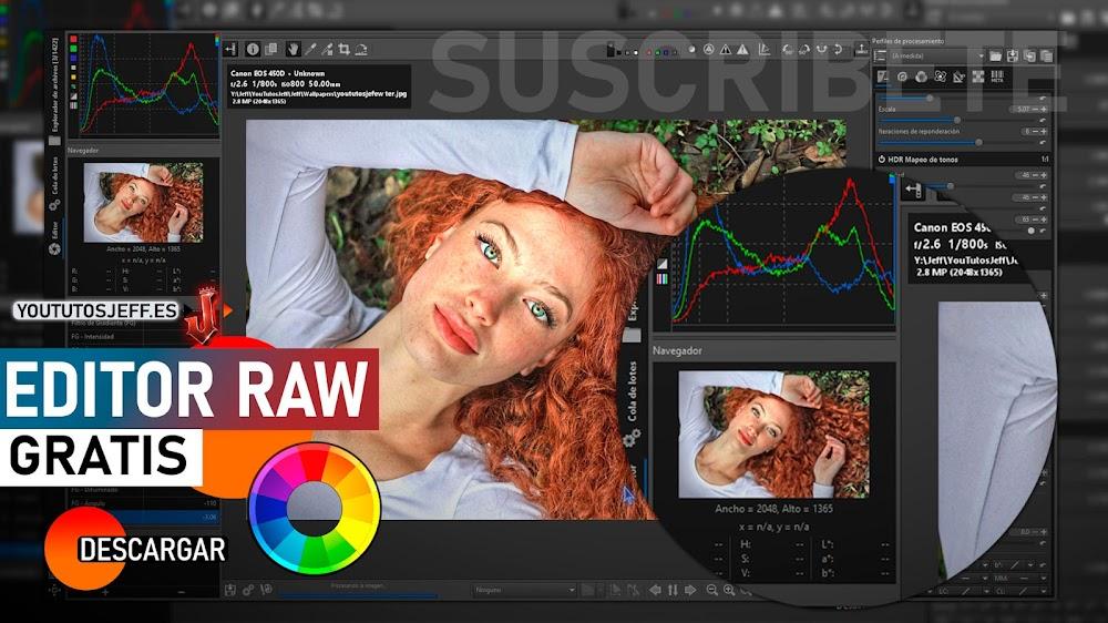 Descargar RawTherapee Ultima Versión | Editor Fotos RAW