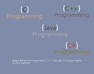 Belajar bahasa pemrogramman