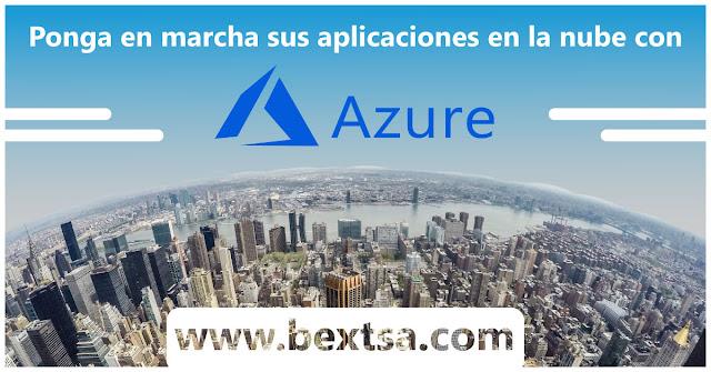 Azure le permite compilar aplicaciones