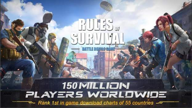 Game Survival Android Terbaik: RULES OF SURVIVAL APK