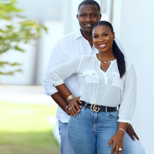 Read John Dumelo's wife's message  to  console him over loosing Ghanaian parliament election.