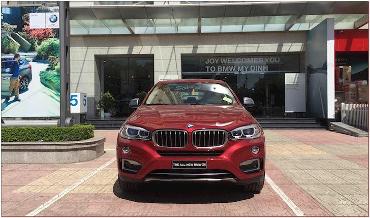 Giá Xe BMW X6 Mẫu Mới Nhất 2020 Lăn Bánh Bao Nhiêu - Màu đỏ