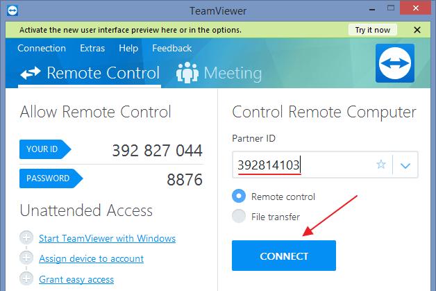 Cara Menggunakan TeamViewer untuk PC atau Android