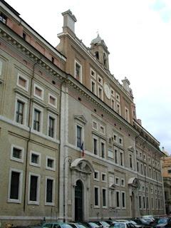 The Collegio Romano in the Pigna district is Rome's Jesuit College