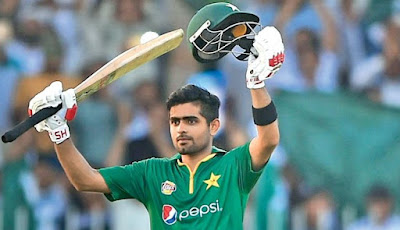 Babar Azam, one of the most expensive players on the hundred draft list with a £ 100,000 base price