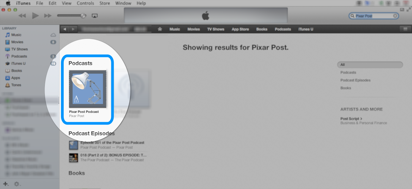 how to post a podcast on itunes