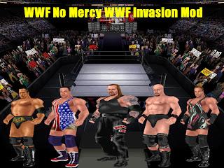 WWF No Mercy Mods: WWF No Mercy WWF Invasion Mod