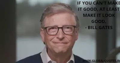 BILL GATES QUOTE ON SUCCESS