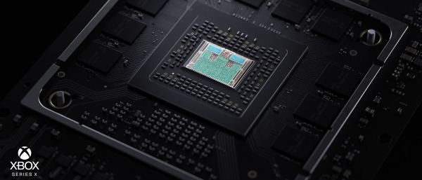 This is the Xbox Series X SoC, a really powerful chip that bets on hybrid rendering