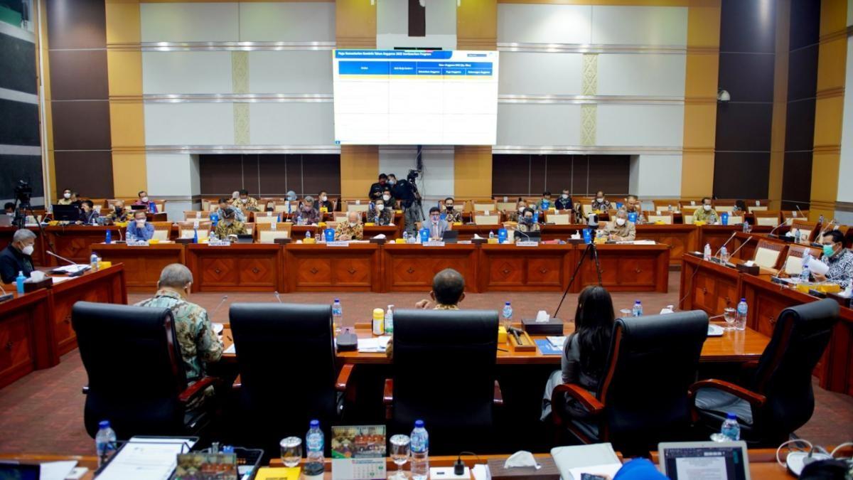Raker Komisi I DPR RI dengan Kemenkominfo