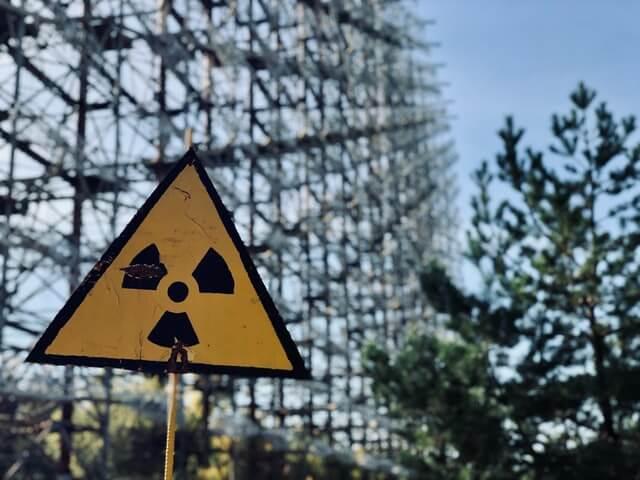 Radiação em Chernobyl