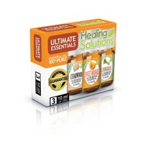 Healing Solutions ULTIMATE Essential Oil Set of 3-10mL