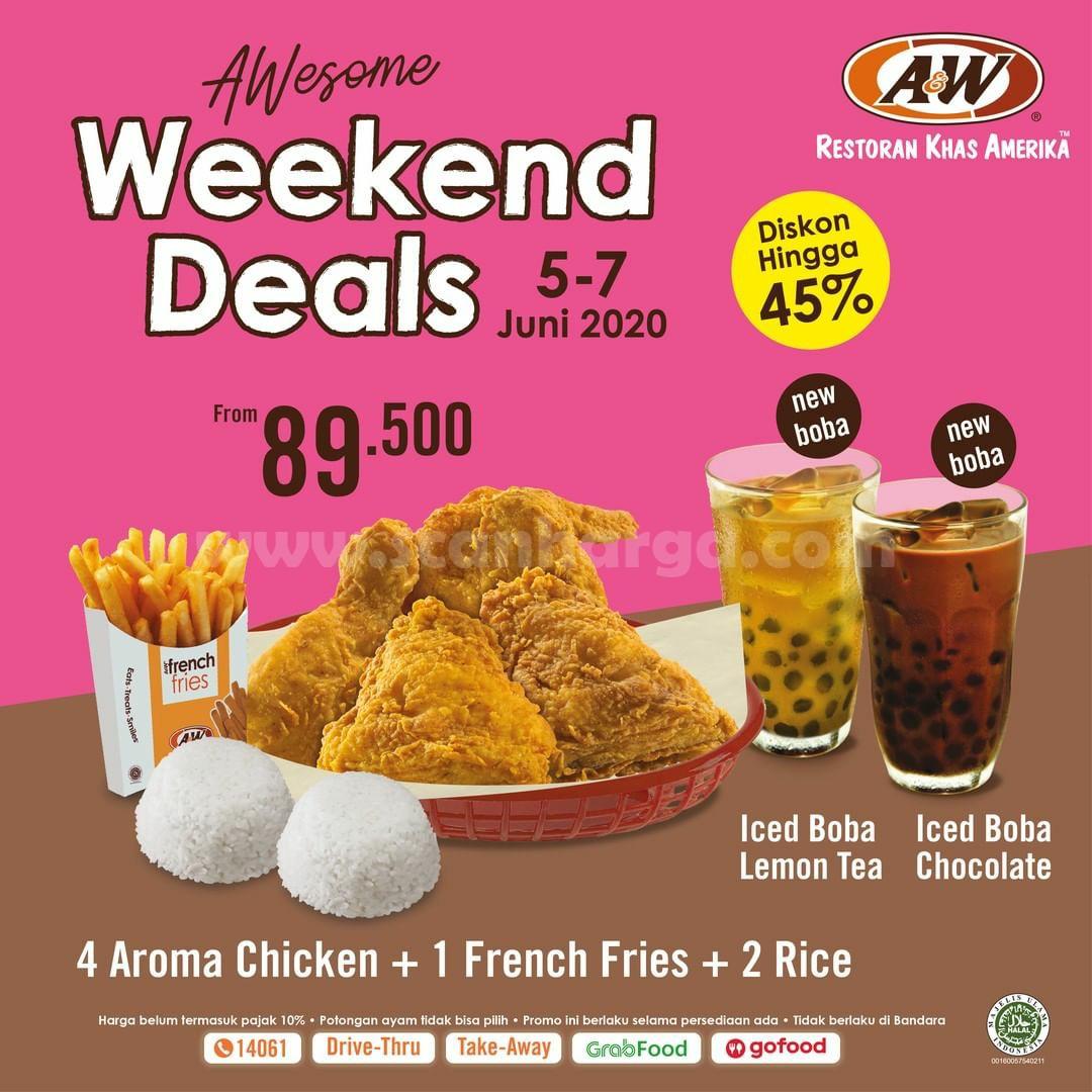 Promo AW Restoran Weekend Deals 5 - 7 Juni 2020