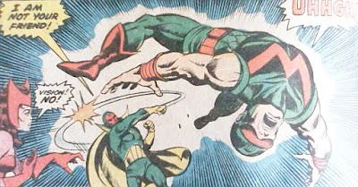 Avengers #158, Wonder Man vs Vision, Sal Buscema
