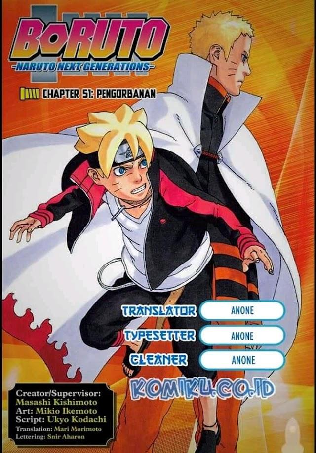 Komik manga boruto chapter 51-pengorbanan Bahasa Indonesia