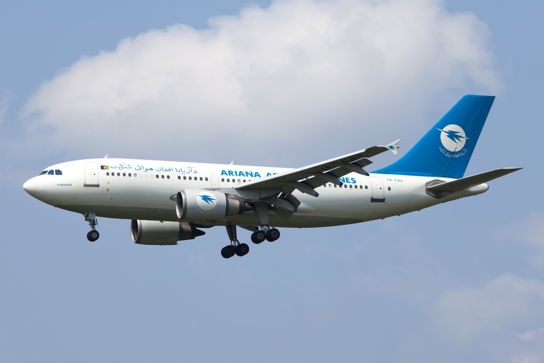 Decision to allow Afghan Airlines to fly to Pakistan