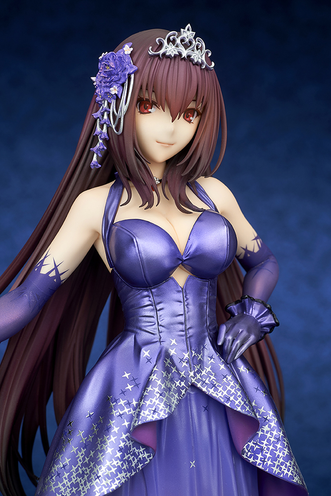Lancer/Scathach Heroic Spirit Formal Dress 1/7 de Fate/Grand Order, quesQ.