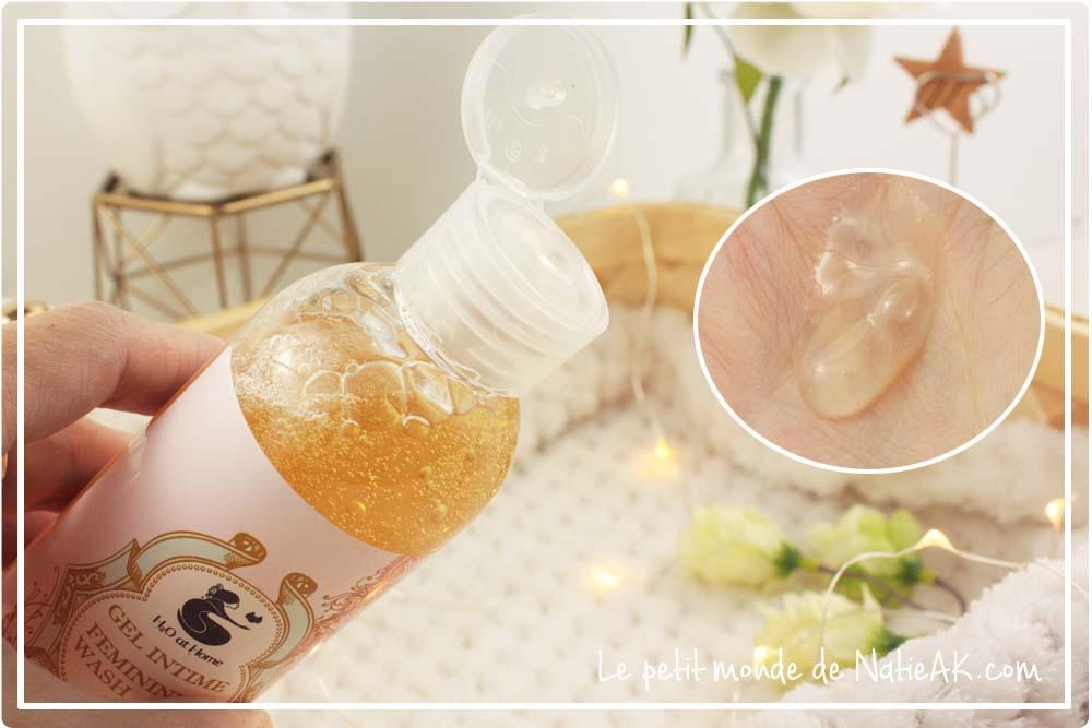 Produits hygiène intime gel bio