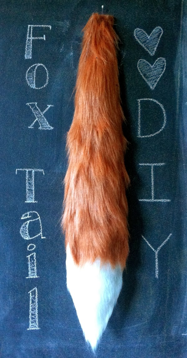 So Here It Is A Super Easy Quick No Sew Tutorial To Make Your Own Faux Fur Fox Tail