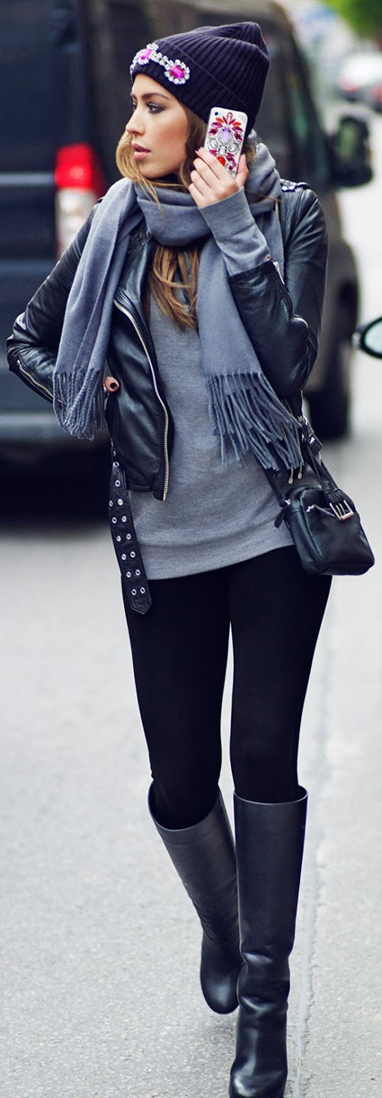 Winter Outfits On The Street