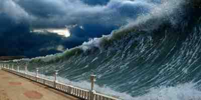 Enorme tsunami poderia terminar parte da Espanha
