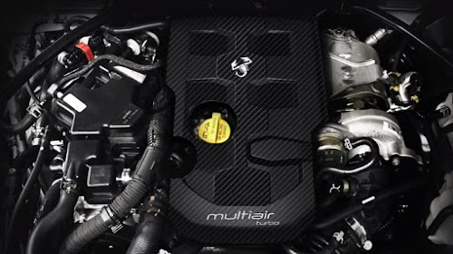 Abarth 124 spider engine